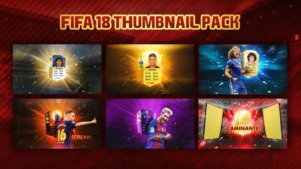 FIFA 18 Thumbnail Pack | FREE PACK - ManuGFX!