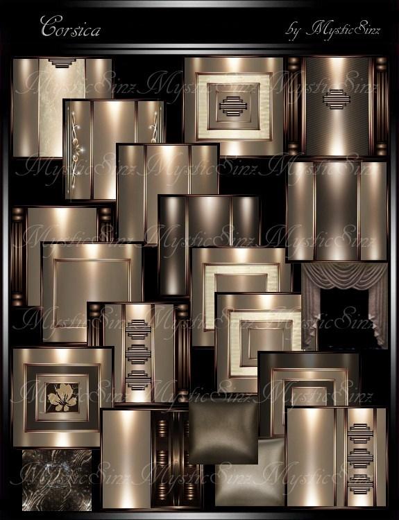 IMVU Textures Corsica Room Collection