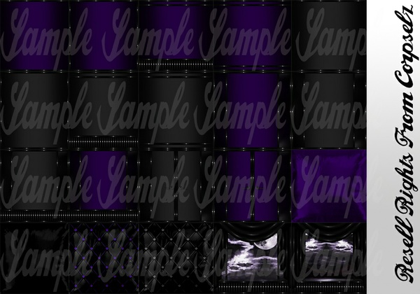Purple District Textures Catty Only!!!