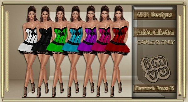 Havannah Dress 65 CATALOG ONLY