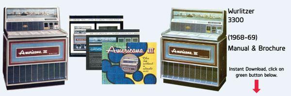 "Wurlitzer Model 3300 ""Americana III"" (1968-69)"