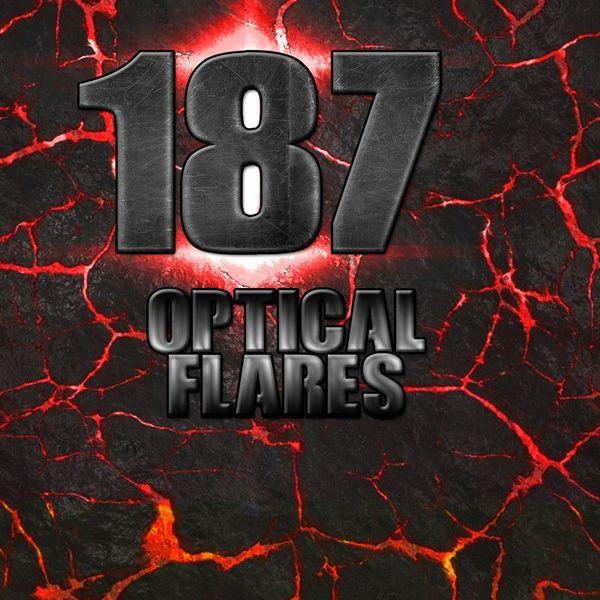 187 Optical Flares