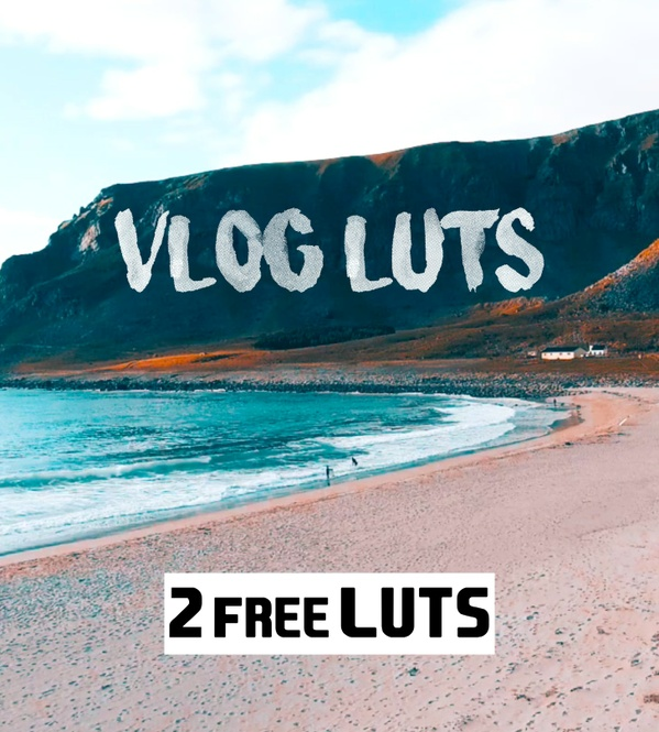 2 PROFESSIONAL VLOG / TRAVEL LUTs  + Adjustment Tool (by SverreGlomnes) | FREE DOWNLOAD