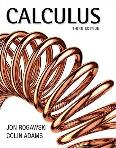 Calculus 3rd Edition by Jon Rogawski PDF