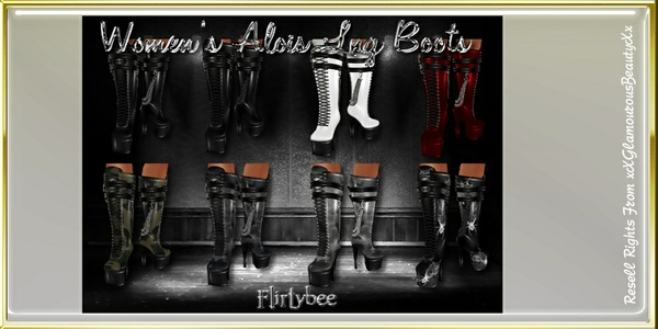 Alois Female Long Boots Catty Only!!!!