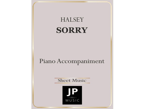Sorry - Piano Accompaniment