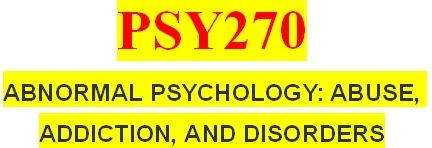 Entire PSY270 Course