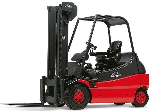 Linde Electric Forklift Truck 336-03 Panorama Series: E25, E30 Operating, Maintenance Instructions