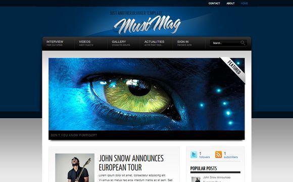 MusiMag Blue Premium Version