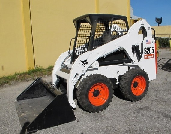 Bobcat S205 Skid - Steer Loader Service Repair Manual DOWNLOAD (S/N A3LJ11001 & Above... )