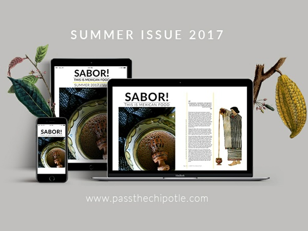 SABOR! This is Mexican Food. Summer Issue 2017