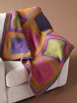 Contemporary Squared Afghan