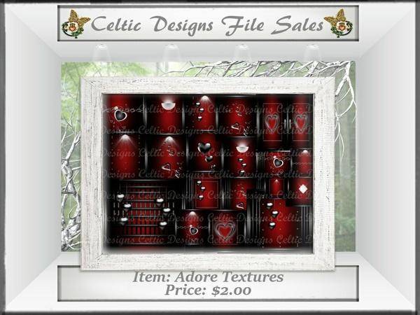 CD Adore Textures