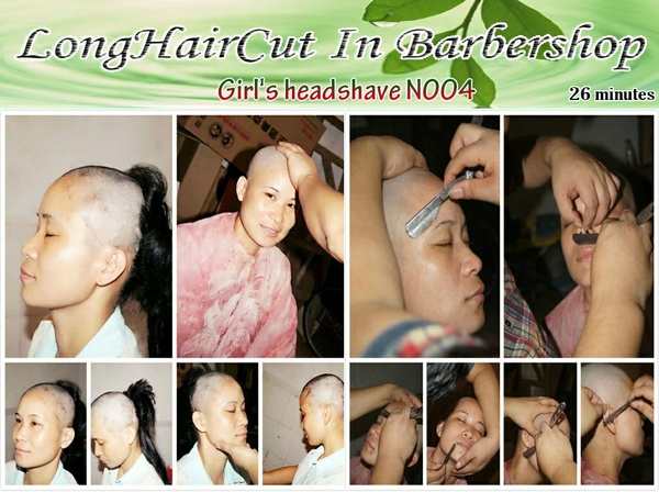 Girl's headshave N004