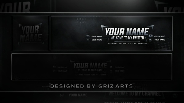Griz Art's Free Revamp Template (Header)