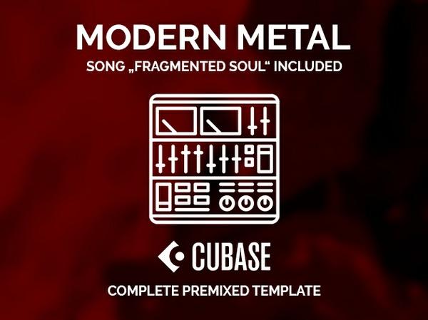 CUBASE PRE-MIXED TEMPLATE - Modern Metal / All VSTi