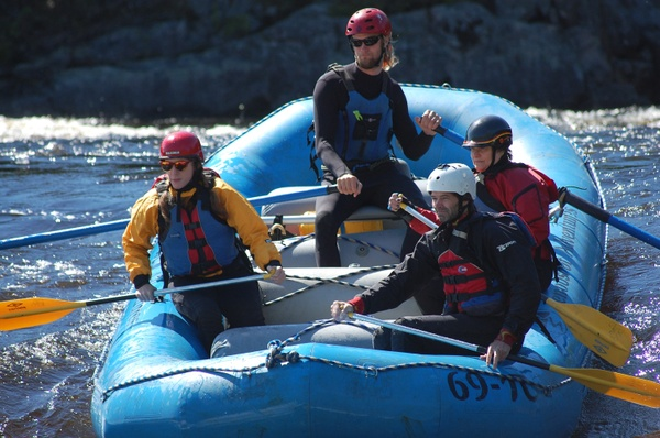 Penobscot Rafting Video 05/28/2017