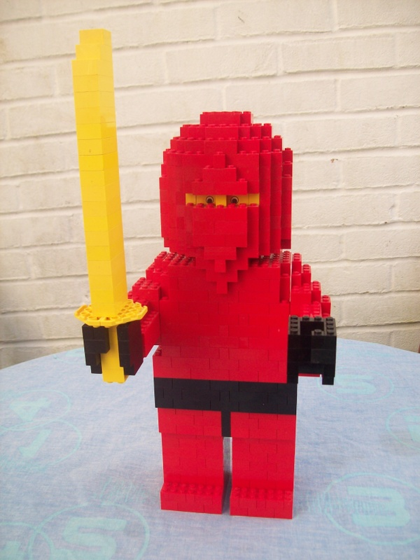 Instructions for Large Lego Ninja Figure