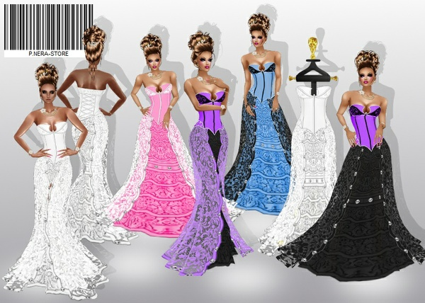 WEDDING DRESS COLORATI