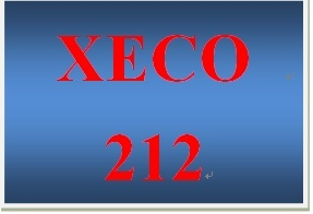 XECO 212 Week 3 Historical Example of Labor Supply and Demand