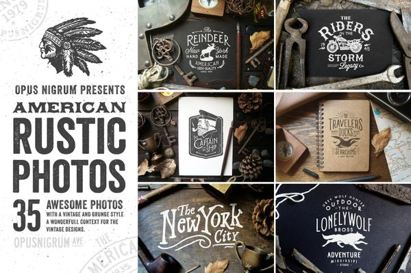 35 American Rustic Photos