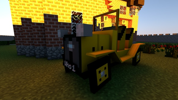 [Minecraft] Bessie Car Rig