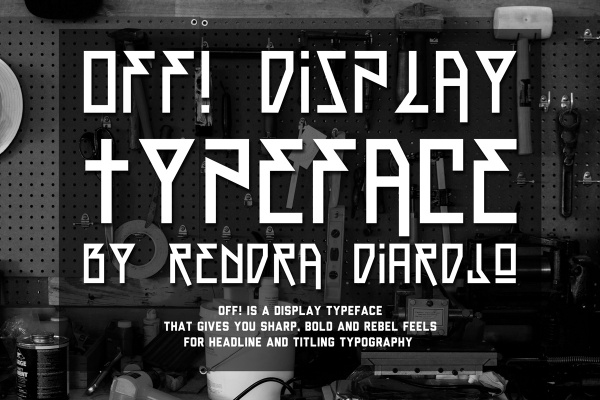 OFF! TYPEFACE