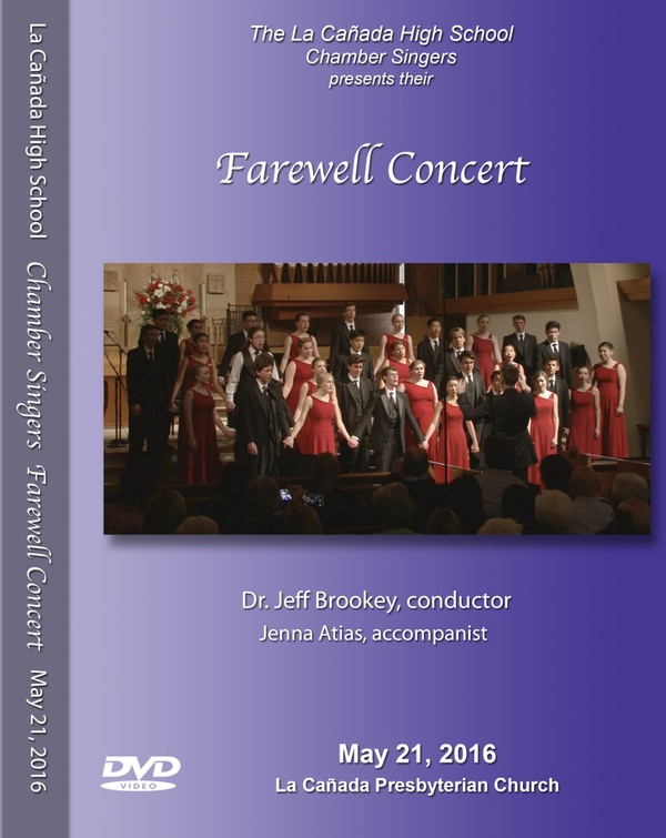 May 21, 2016 Chamber Farewell Concert