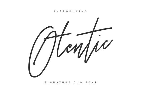 Otentic Font