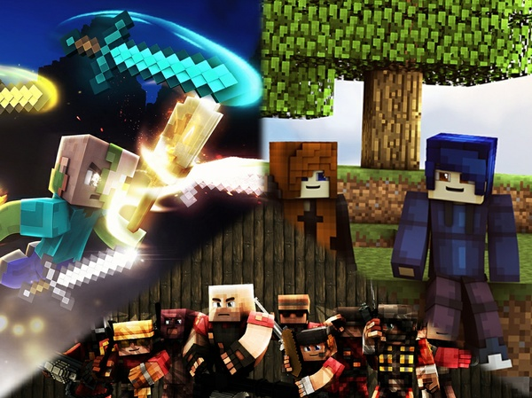 Minecraft GFX Wallpaper