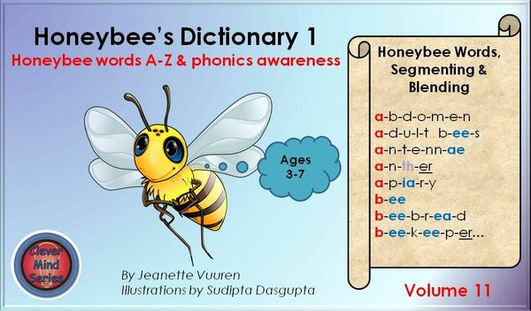 HONEYBEE TERMINOLOGY: HONEYBEE'S DICTIONARY 1 VOL 11 JEANETTE VUUREN