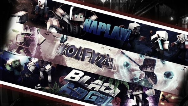 MInecraft Banner **if you want speedart pay 7$**