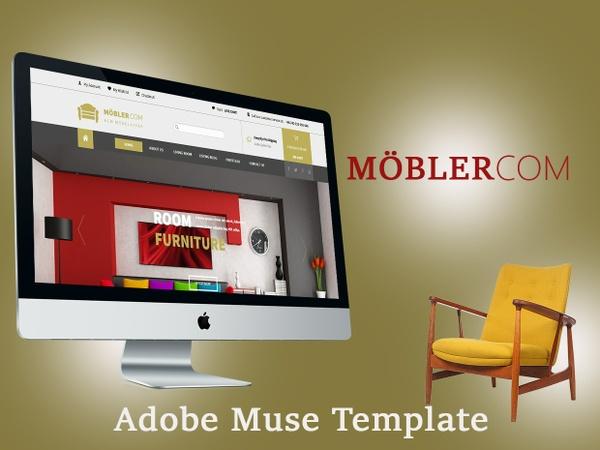 MöblerCOM-Adobe Muse Template