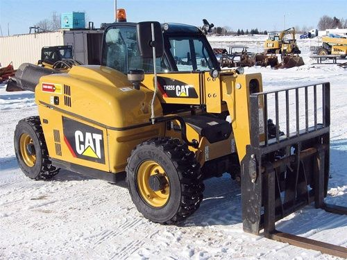 Caterpillar Cat TH255 Telehandler Service Manual Download