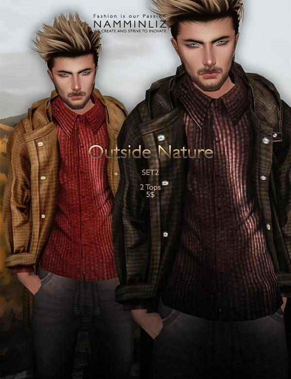 Outside Nature 2 SET imvu JPG Textures 2Tops