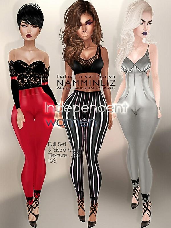 Independent women Full set 4 imvu outfit sis3d JPG