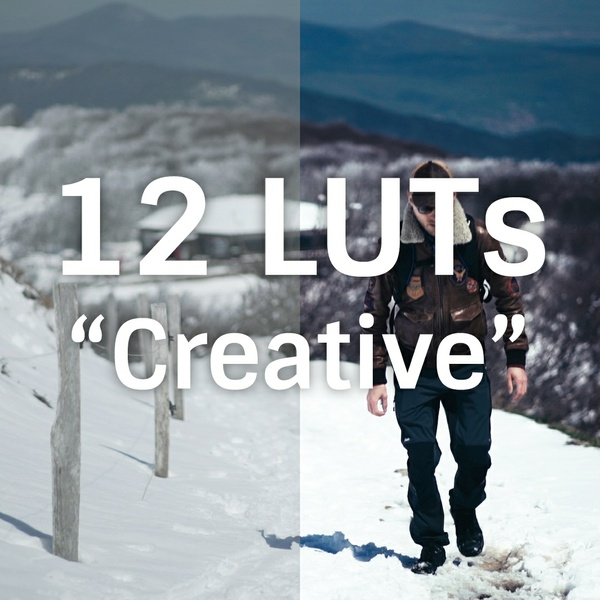 "Pack 12 LUTs ""Creative"""