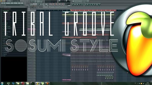 Tribal Groove FLP (Sosumi Style)
