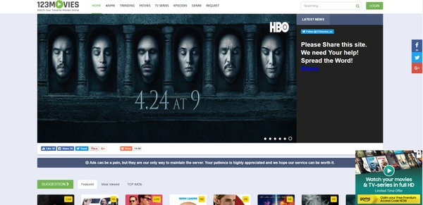 123Movies Php Script