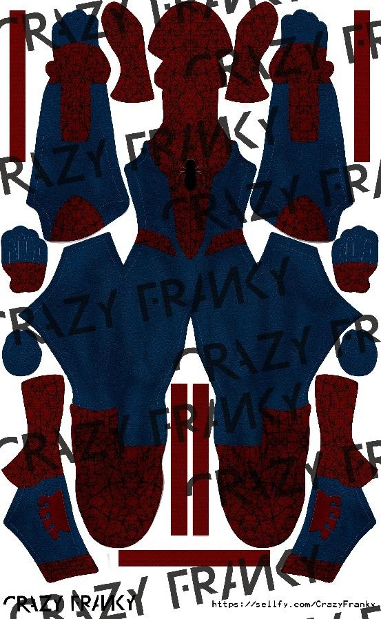 (FanArt) Civil War Spider-Man V1 pattern