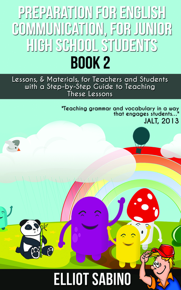 Free Preview Copy, Preparation for English Communication, for Junior High School Students, Book 2.