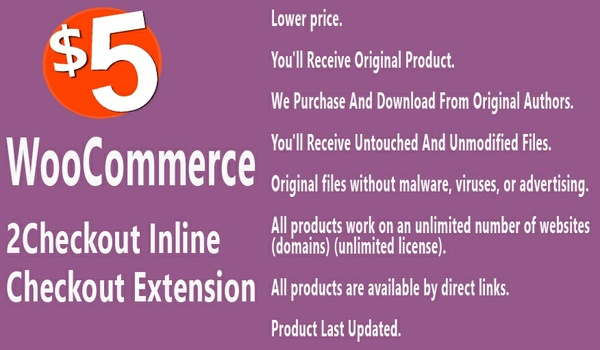 WooCommerce 2Checkout Inline Checkout Extension