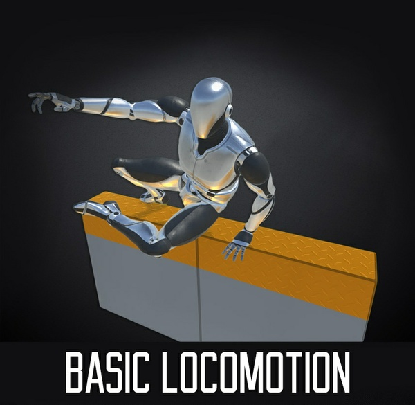 Basic Locomotion PRO for Unity