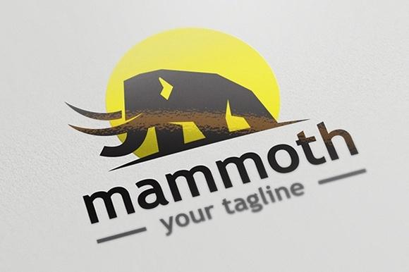 Mammoth Logo Template