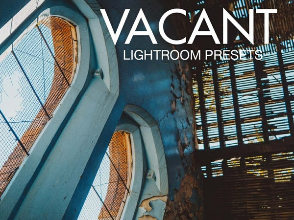 VACANT Lightroom Preset Pack