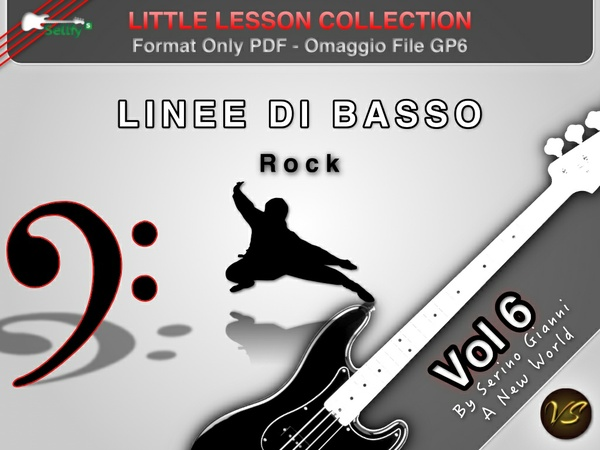 LITTLE LESSON VOL 6 - Format Pdf (in omaggio file Gp6)
