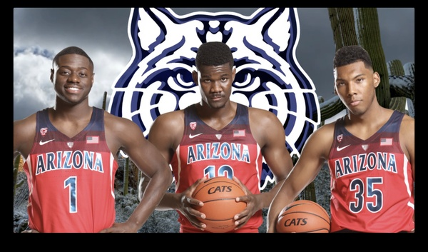 """Adobe After Effects Project File: """"Arizona Basketball Motion Graphics"""""""
