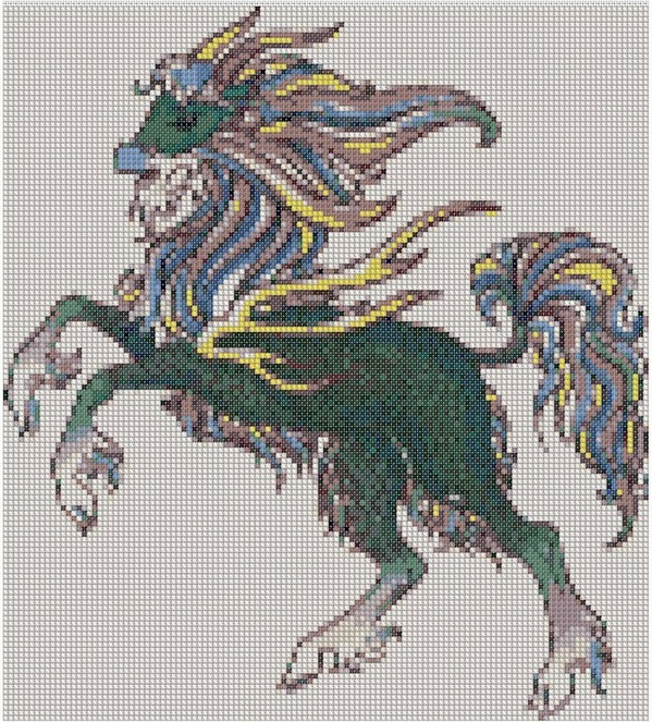 cross stitch pattern Ign-050c