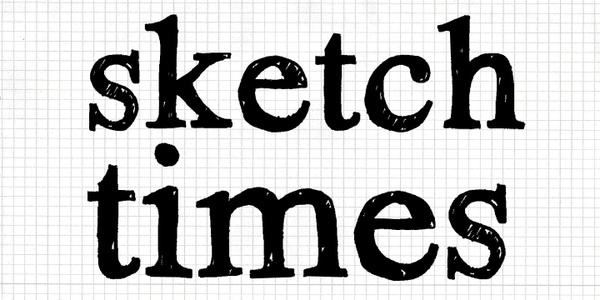 Font | Hand Scribble Sketch Times