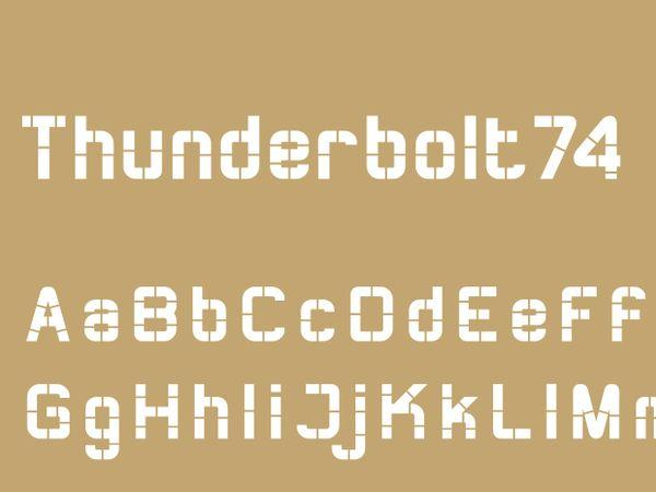 Thunderbolt74 Bold